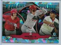 2019 Bowman Chrome Atomic Refractor Parallel Talent Pipeline Philadelphia 17/150