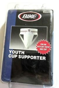 """Bike 7196 Youth Jock Strap Cup Supporter Large 30-32"""" Waist  New"""