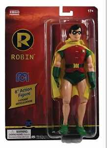 Mego Robin Dc Comics  Action Figure 8 Inch presale shipping in  August