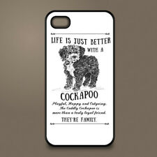 Cockapoo dog phone case cover Apple iPhone Samsung Galaxy ~ Personalised
