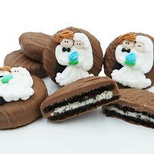 Philadelphia Candies Wedding Bride and Groom Milk Chocolate OREO® Cookies Gift