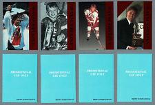 1992 Krown Wayne Gretzky Promo Set of Four, Red