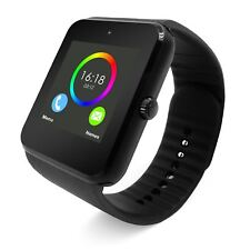"Bluetooth Smartwatch 1.5"" pantalla Podómetro SMS Cámara de notificación de los medios de comunicación social"
