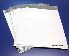 25 MAILER 12 x 15.5 WHITE POLY BAGS MAILING SHIPPING PLASTIC ENVELOPES 2.5 MIL