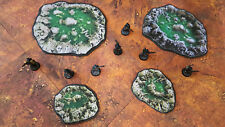 Alien Acid Pools - Warhammer terrain scenery Digital Download wargame 40k 28mm