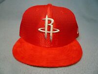 New Era 59fifty Houston Rockets On Court Sz 7 1/4 BRAND NEW Fitted cap hat Draft
