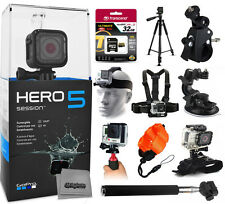 GoPro HERO5 Session + 32GB Pro Accessory Bundle Kit for Action Camera