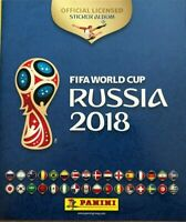 Panini World Cup Russia 2018 Empty Sticker Album Mint