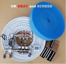 UNDERFLOOR HEATING KIT,WATER, 20 SQM - Any size, fitting service available