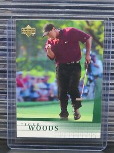 2001 Upper Deck Golf Tiger Woods Rookie Card RC #1 R465