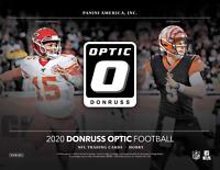 *READ* 2020 Panini Donruss Optic NFL One Hobby Box Random Team Break #1
