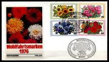 Gartenblumen. FDC. BRD 1976