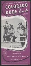 1954 Colorado Dude Ranch Brochure