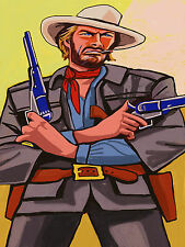 CLINT EASTWOOD PRINT poster the outlaw josey wales movie western cowboy pistol