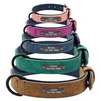 Collare Per Cani Taglia Grande Personalizzato Nome Colletto Identificativo Tag