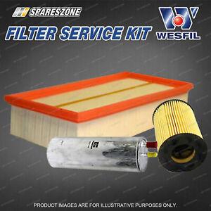 Oil Air Fuel Filter Service Kit for Volkswagen Multivan Transporter T5 2.5L TDi
