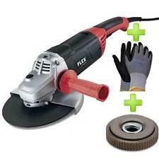 FLEX Winkelschleifer L 2200 / 2200 Watt + SDS+Click Mutter + 1 Paar Handschuhe