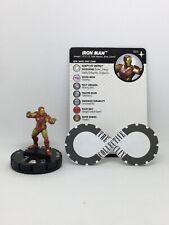 Heroclix - Iron Man 003 - Secret Wars: Battleworld - Common W/ Card