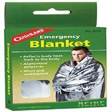 Safety Warm Wind/Waterproof Reflect Body Heat Emergency Blanket (Pack of 10)