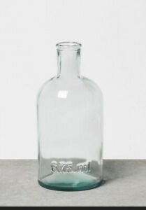 HEARTH AND HAND - MAGNOLIA . Small Clear Vase/ 675ml / Glass