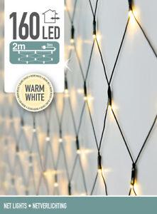 LED-Lichternetz - 160 LED - Warm Weiß - 5m