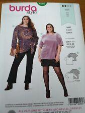 Burda Easy SEWING PATTERN 6260 Plus Size Tops Sizes 18-28