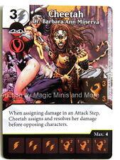 Justice League CHEETAH Dr. Barbara Ann Minerva #115 rare Dice Masters DC card