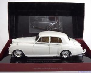 ROLLS ROYCE SILVER CLOUD II 1960 WHITE MINICHAMPS 100134900 1/18 WEISS BIANCA