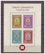 Türkei, Tag der FIP MiNr. 1884 - 1887 Block 10, 1963**