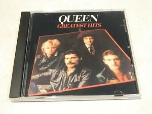Queen Greatest Hits CD [CDP 7 46033 2] {no bar code} [Error on Cover] [rare]