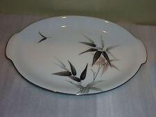 "12"" Oval  Serving Tray Plate with Handles Sango SASA Japan China"