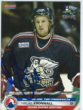 Niklas KRONWALL Signed 2003/04 Pro Choice AHL Prospects Card