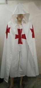 Medieval Constantinople Crusader Knights Templar Knight Costume Cloak Cape set