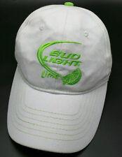 BUD LIGHT LIME white adjustable cap / hat