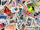 France commémoratifs grands formats 1500 timbres différents oblitérés
