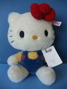 2013 Steiff HELLO KITTY Mohair Toy ~ 40th Anniversary #682216 ~ Made in Germany
