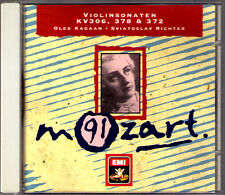 Oleg KAGAN & Sviatoslav RICHTER: MOZART Violin Sonata K.306 378 Andante 404 CD