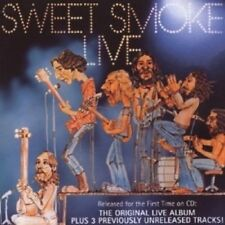 SWEET SMOKE - LIVE (ORIG. RECORDING REMASTERED) CD 6 TRACKS SOFT ROCK / POP NEU