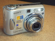 Sony Cyber-shot DSC-S90 4.1MP Digital Camera - Silver