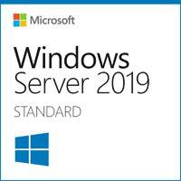Windows Server 2019 Standard | 16 Core | Full License | x64 dl + 50 User RDS CAL