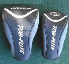 Top Flite Golf Driver & 3-Wood Head Covers - New Excellent - Priced To Sell