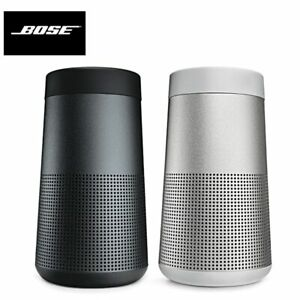 New Bose SoundLink Revolve Portable Bluetooth Speaker - Triple Black / Lux Gray