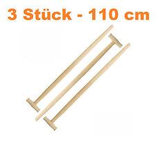 3 x Spatenstiel Grabegabel Spatengabel Stiel Holzstiel T Griff 110cm Set Ø 36