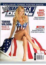 WWE Divas Smackdown- Torrie Wilson-  Magazine- No Poster July 2005 W43
