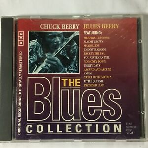 CHUCK BERRY - BLUES BERRY -THE BLUES COLLECTION NO. 3 - CD - VGC - FREE POST