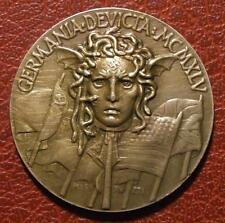 Victory Over Germany in World War II - Italy 1945 - Rare Medal