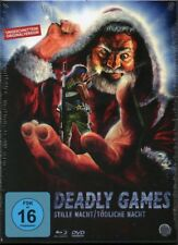 Deadly Games Blu Ray & DVD Camera Obscura Limited 3 disc set Rene Manzor uncut