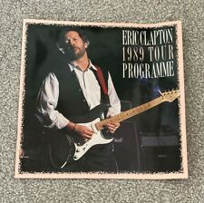 More details for *eric clapton* 1989 tour programme* london {royal albert hall/20 jan - 3 feb} nr