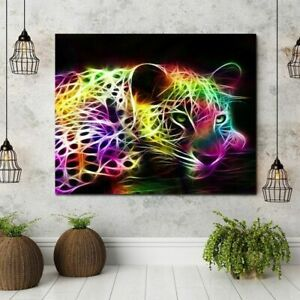 Painting Pictures Home Decor Art Poster On The Wall Tiger Modern Abstracts
