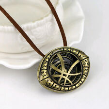 Dr. Doctor Strange Pendant Eye of Agamotto Necklace Chain Cosplay Marvel Movie